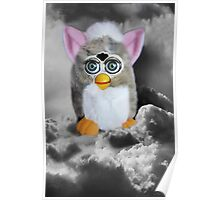❀◕‿◕❀FERBY IN CLOUDS COMING TO MAKE A HOME ON EARTH CARD/PICITURE❀◕‿◕❀ Poster