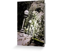 Capitol Lamps - Olympia Greeting Card