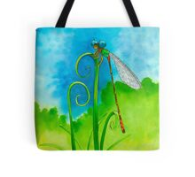 Little Dragonfly Dude  Tote Bag