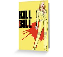 Kill Vampire Bill Greeting Card