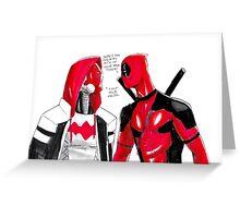 Jason and Wade  Greeting Card