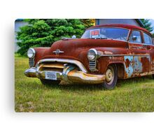 Rusty Olds Canvas Print