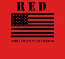 RED Remember Everyone Deployed Unisex T-Shirt