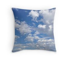 I love clouds! Throw Pillow