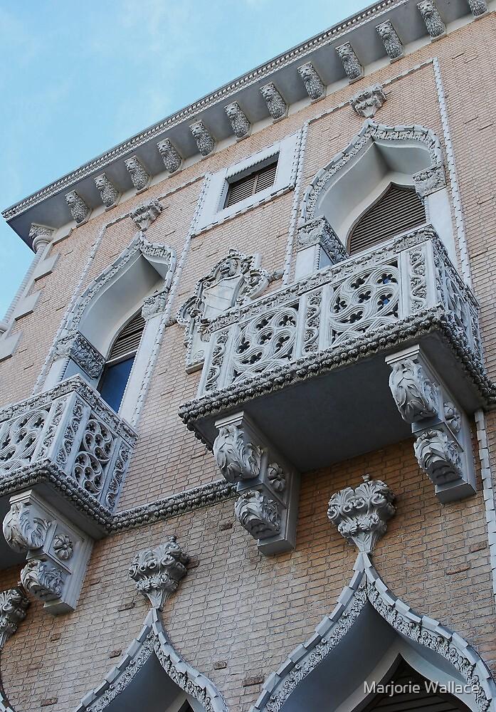 Venetian Balcony by Marjorie Wallace