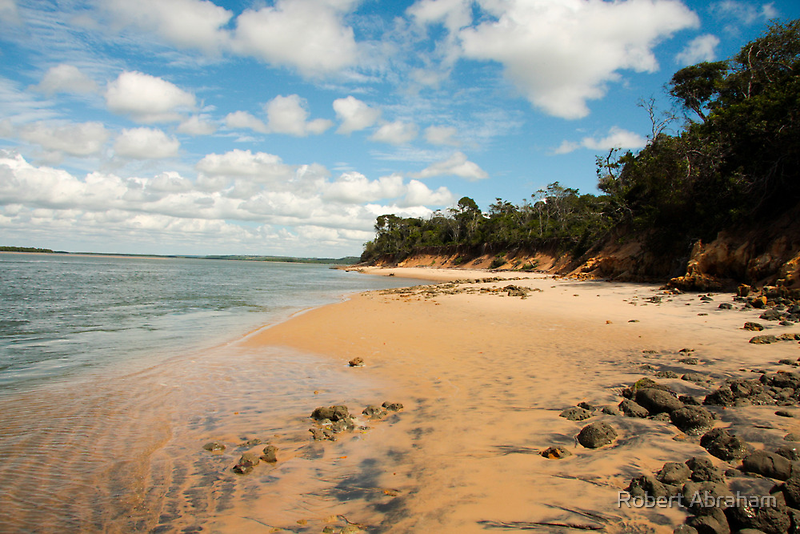 Secluded Beach by Robert Abraham