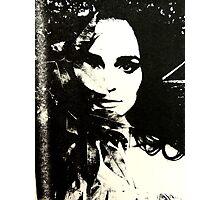 Black Tree Photographic Print