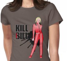 Kill Vampire Bill (Red Version) Womens Fitted T-Shirt