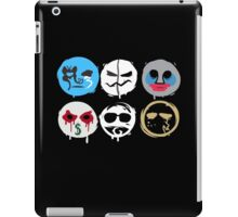 Hollywood Undead Mask Fanmade iPad Case/Skin