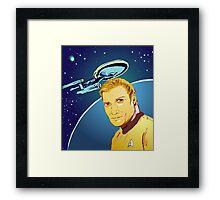 Captain James T Kirk Framed Print