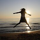 Jumping for joy by lovingnow