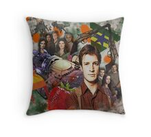 Firefly Collage Throw Pillow