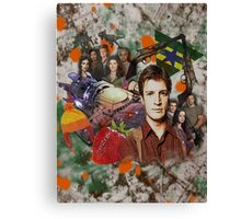 Firefly Collage Canvas Print