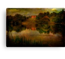 House At Bicton Canvas Print