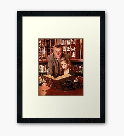 Welcome to the Hellmouth Framed Print