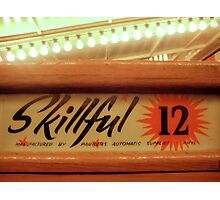 skillful at the penny arcade Photographic Print
