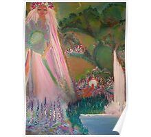 Spring Time Goddess Poster