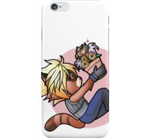 FFVII/GotG Crossover - Rocket & Groot as Cloud and Aerith iPhone Case/Skin