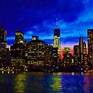 VIEWING MANHATTAN by KENDALL EUTEMEY