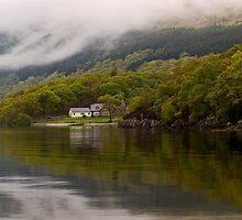 Rowardennan Lodge, Loch Lomand by Lorraine Parramore