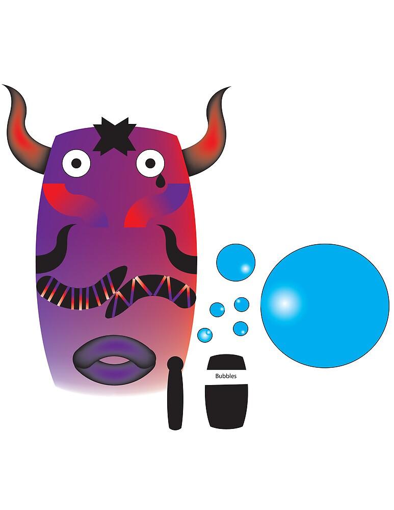 The Great Bubble Buffalo by Matt Your A Creeper
