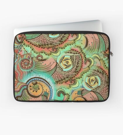 Cornucopia Pattern Laptop Sleeve