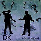iPod Parody iDK by msalinas