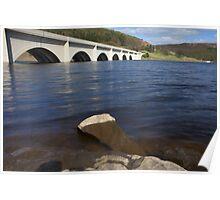 Ashopton Bridge, Ladybower Reservoir Poster