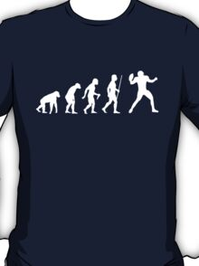 NFL Evolution of Man Funny T Shirt T-Shirt