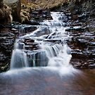 Grindsbrook Slate Waterfall by James Grant