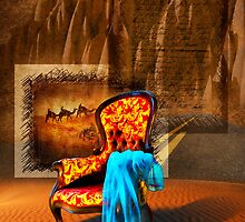Dreaming Chair by Svetlana Sewell