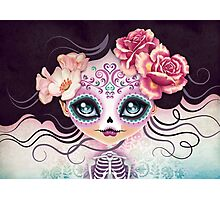 Camila Huesitos - Sugar Skull Photographic Print