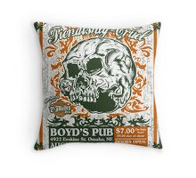 Fiendishly Cruel At Boyd's Pub Throw Pillow