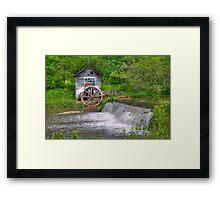 Hyde Mill Revisited Framed Print