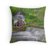 Hyde Mill Revisited Throw Pillow