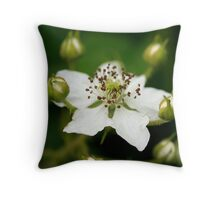 Potential Blackberries Throw Pillow