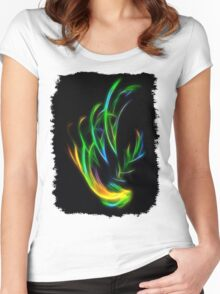 V Flame Women's Fitted Scoop T-Shirt