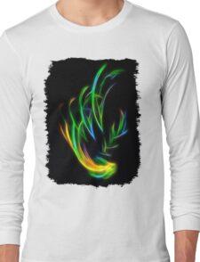 V Flame Long Sleeve T-Shirt