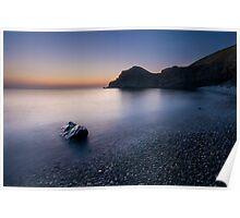 Hartland Cove at Dusk Poster