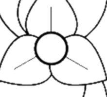 La Dispute Flower Sticker