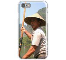 Boat Punter, Yangshuo iPhone Case/Skin