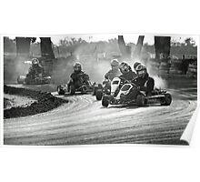Busselton Dirt Kart Fun Poster