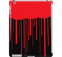 Blood Drips (black) iPad Case/Skin