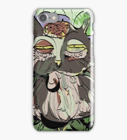 Owl old story iPhone Case/Skin