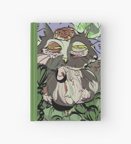 Owl old story Hardcover Journal