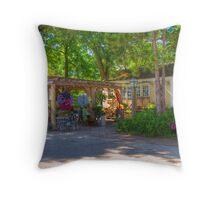 Botanical Design Throw Pillow