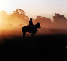 Polocrosse Sunrise Photograph by Margaret Woodlock-McLean