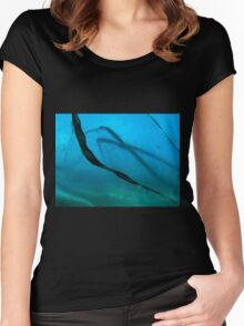 cutting edge Women's Fitted Scoop T-Shirt