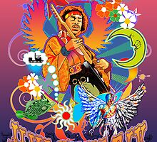 Jimi Hendrix by Steve Harvey