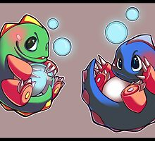 Bubble Bobble by b-inky